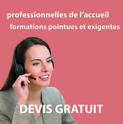 professionnelles de l'accueil formées à vos sites et vos spécificitées dans les Yvelines